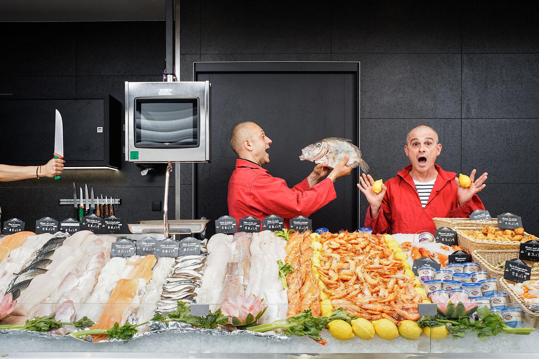 La Poissonnerie du Bonheur vous propose un large choix de poissons, coquillages... dans un esprit convivial